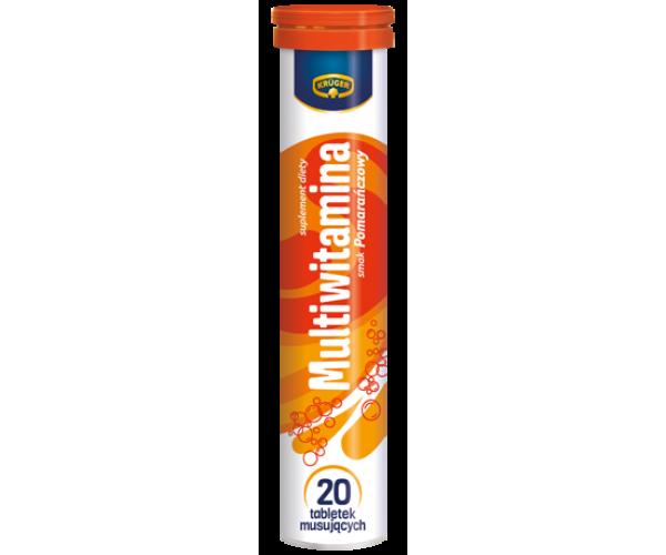 Вітаміни расстворимые шипучі Kruger Multiwitamina Мультивітаміни 20 таблеток