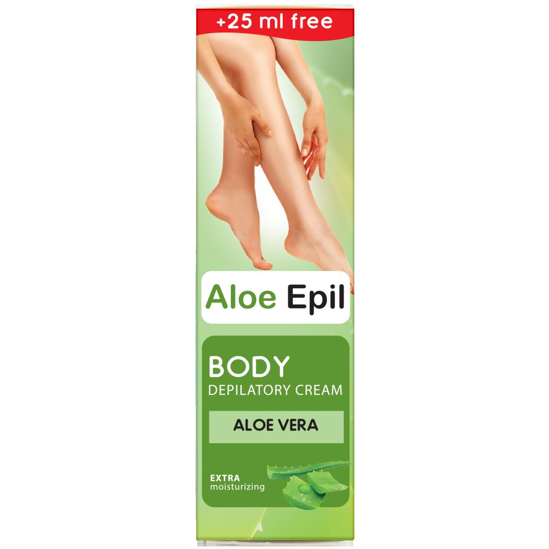 Крем для депиляции тела  Aloe Epil 125 мл