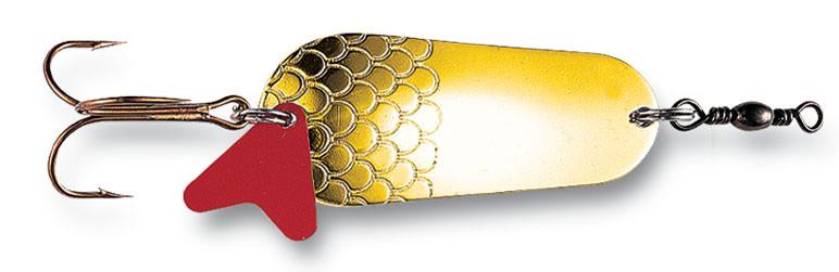 Блешня-колебалка DAM Effzett Original 30гр 6,5 см (gold)