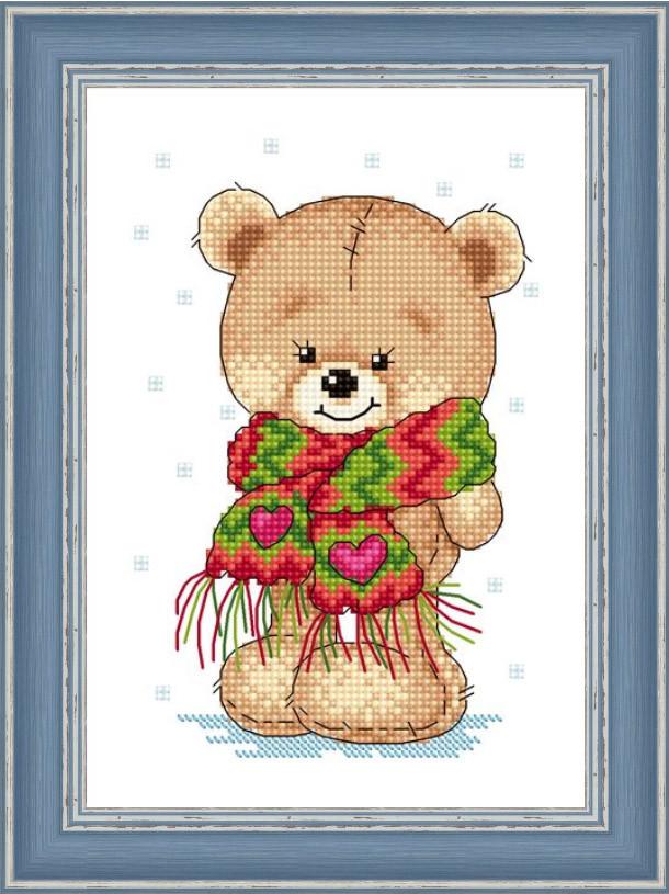 Набір для вишивання Зроблено з любов'ю Мій теплий шарфик (МК-028)