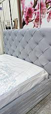Ліжко Велюр без підйомного механізму 160х200 ТМ Viorina Deko, фото 2