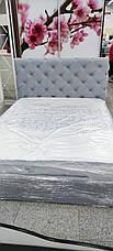 Ліжко Велюр без підйомного механізму 160х200 ТМ Viorina Deko, фото 3
