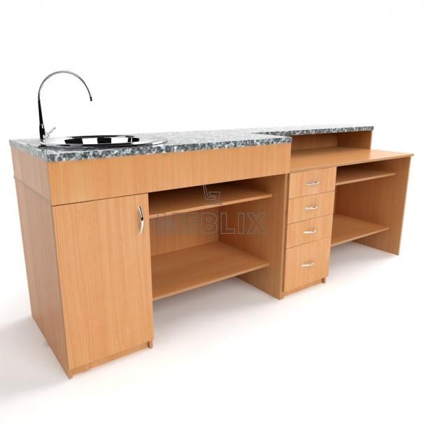 Демонстраційний стіл для кабінету ХІМІЇ