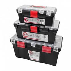 Комплект ящиков для инструментов, 3 шт INTERTOOL BX-0205