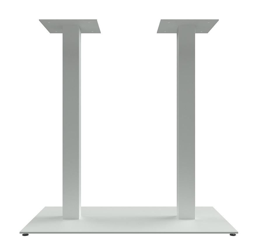 """Металлические опоры """"DUO"""" для стола ножки для стола в кафе Белый цвет"""