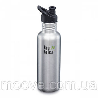 Klean Kanteen Classic Sport Cap Brushed Stainless 800 мл