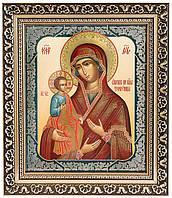 Икона Божией Матери «Троеручица» (багет)