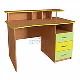 Вчительський стіл з надбудовою ➨ СР-4 для НУШ✔️, фото 2