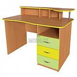 Вчительський стіл з надбудовою ➨ СР-4 для НУШ✔️, фото 3