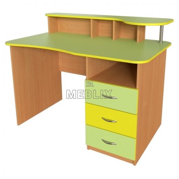 Вчительський стіл з надбудовою ➨ СР-4 для НУШ✔️