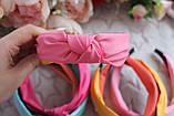Ободок Чалма основа пластик/текстиль, фото 4