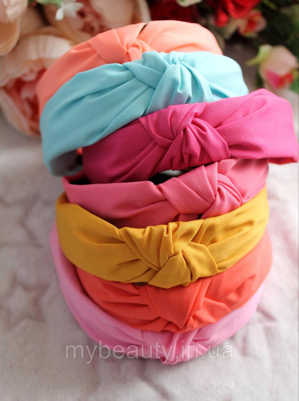 Ободок Чалма основа пластик/текстиль