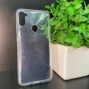 Чехол Samsung A11 A115 M11 M115 прозрачный