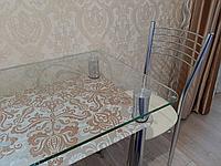 Стіл кухонний КТ-01 прямокутний скляний / JAM ( ДЖЕМ), фото 1