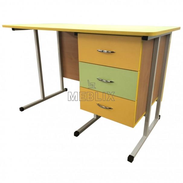 Мобільний стіл для вчителя на металлокаркасе - СР-8 для НУШ