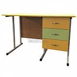 Мобільний стіл для вчителя на металлокаркасе - СР-8 для НУШ, фото 2