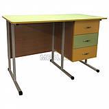 Мобільний стіл для вчителя на металлокаркасе - СР-8 для НУШ, фото 3