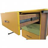 Мобільний стіл для вчителя на металлокаркасе - СР-8 для НУШ, фото 4
