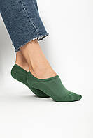 Женские носки FAMO Следки Мадлен зеленый 36-39 (NF-2009)