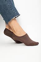 Женские носки FAMO Следки Мадлен коричневый 36-39 (NF-2009)