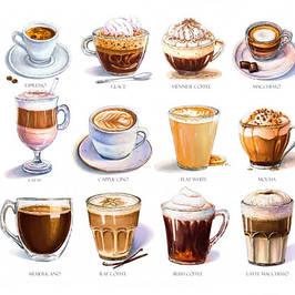 Капучіно та кофейні напитки