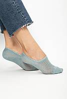 Женские носки FAMO Следки Чамми бирюзовый 36-39 (#9258-50)