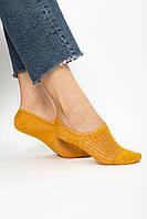 Женские носки FAMO Следки Чамми желтый 36-39 (#9258-50)
