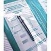 Крафт пакети для стерилізації в сухожаре автоклаві Медтест 100 шт прозорі 60х100 мм