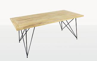 Обеденный стол Саманта CRUZO (240х100 см) тик натуральный