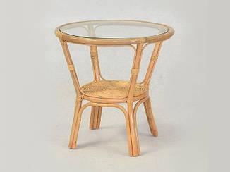 Кофейный столик Келек CRUZO натуральный ротанг медовый