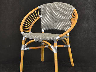 Обеденный стул Хотын CRUZO натуральный ротанг