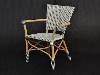 Обеденное кресло Марсель CRUZO натуральный + искусственнный ротанг