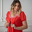 Нарядні сукні великих розмірів інтернет-магазин 50-60 електрик, фото 6