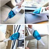 Ваакуумный пылесос для авто High-power Portable Vacuum Cleaner автомобильный | Автопылесос, фото 3