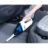 Ваакуумный пылесос для авто High-power Portable Vacuum Cleaner автомобильный | Автопылесос, фото 4