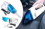 Ваакуумный пылесос для авто High-power Portable Vacuum Cleaner автомобильный | Автопылесос, фото 5
