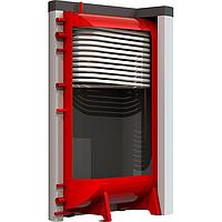 Теплоаккумулятор Kraft БТА 1000 литров плоский со змеевиком