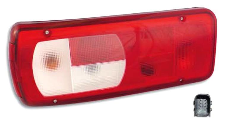 Стекло фонаря прицепа, полуприцепа Mars DAF XF,CF,LF,95 XF левое