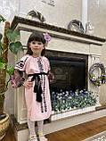 Рожева вишита сукня для Ваших солодких донечок, фото 2