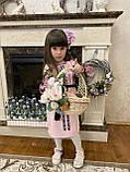 Рожева вишита сукня для Ваших солодких донечок, фото 7