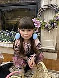 Рожева вишита сукня для Ваших солодких донечок, фото 6