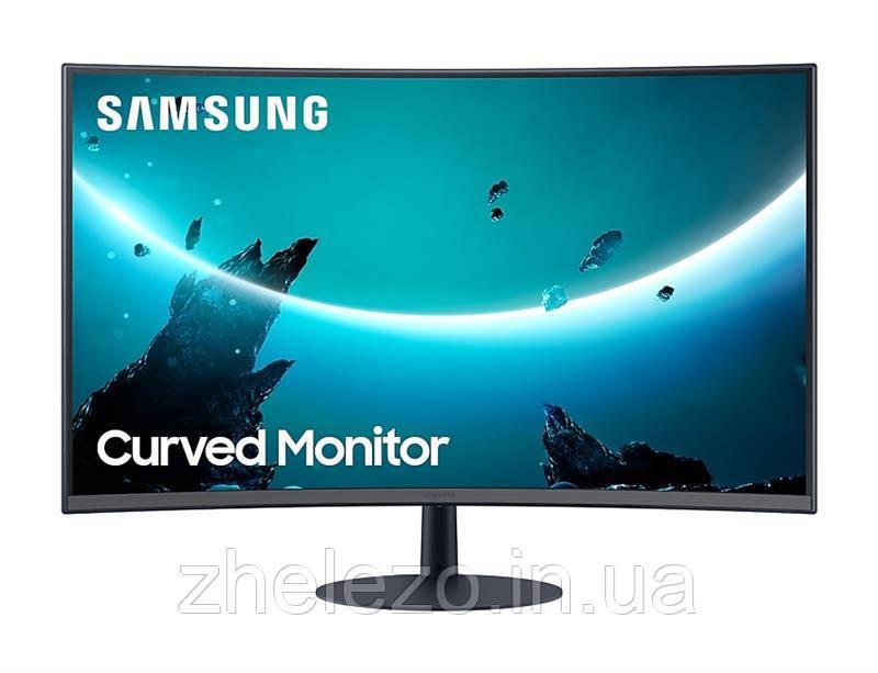 "Монітор Samsung 27"" C27T550FDI (LC27T550FDIXCI) VA Black Curved"