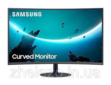 "Монітор Samsung 27"" C27T550FDI (LC27T550FDIXCI) VA Black Curved, фото 2"