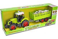 Трактор с Прицепом Игрушка