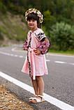 Рожева вишита сукня для Ваших солодких донечок, фото 10