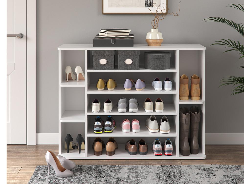 Обувной стеллаж 116x87 Vicco Levin, белый