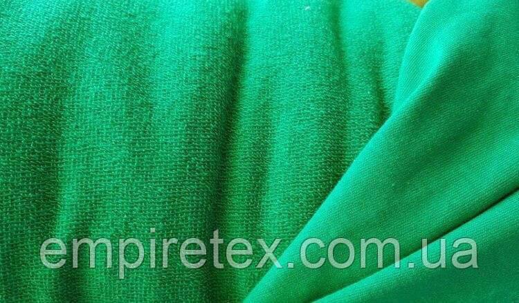 Трехнитка без начісування (петля) Зелений