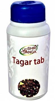 Тагар 120 таб - истерия, ипохондрия, беспокойство, эмоциональное напряжение, стресс, нарушениях сна, Tagar