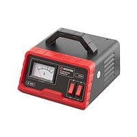 Пристрій зарядний для акумуляторів 6/12 В, 3/6 А, 4-60 Ач, з трансформатором INTERTOOL AT-3033