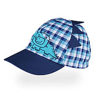 Бейсболка для мальчика TuTu арт. 3-005474 (46-50) 46-50 см., Синий
